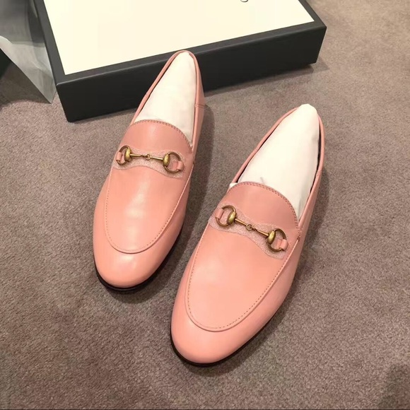 7afac2fd0 Gucci Shoes | 10mm Brixton Leather Loafer Pink Eur365 | Poshmark